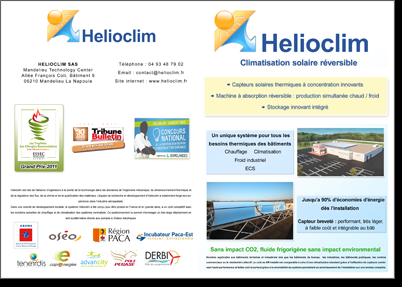 Thumbnail flyer helioclim